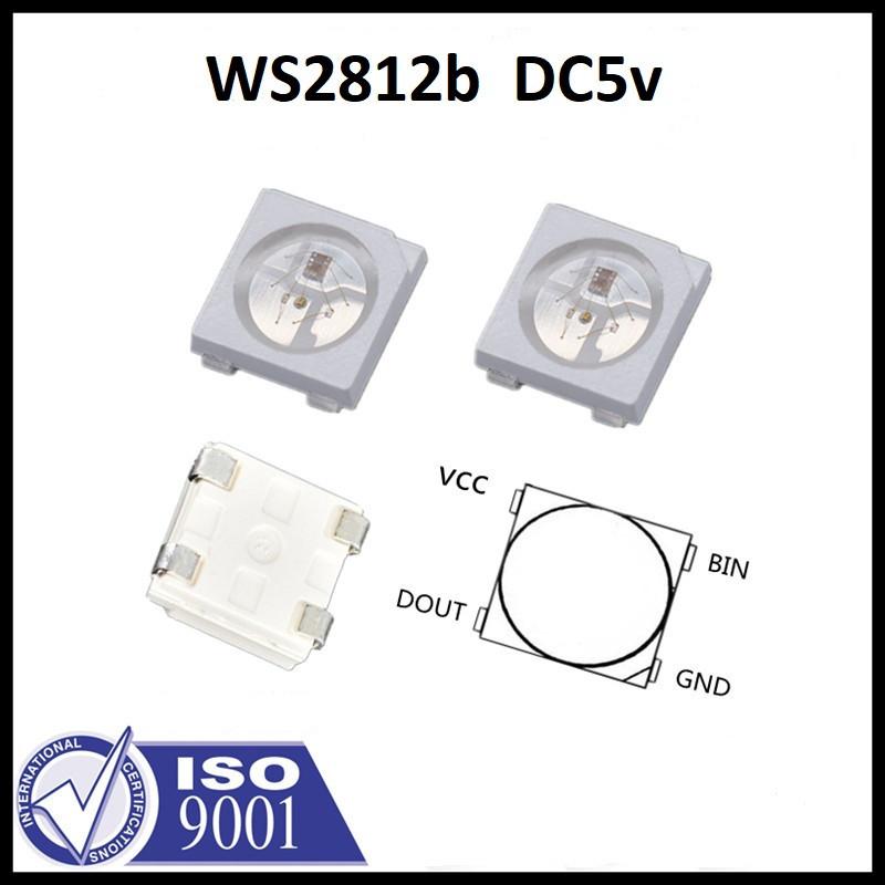 Адресный LED диод RGB WS2812B Neopixel с пиксельной адресацией (4пин)