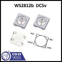 Адресный LED диод RGB WS2812B Neopixel с пиксельной адресацией (4пин), фото 1