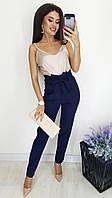 Модные женские брюки батал