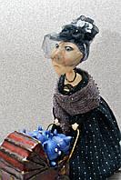 """Авторская, характерная кукла. """"Биата"""" (с коляской) (А01101)"""