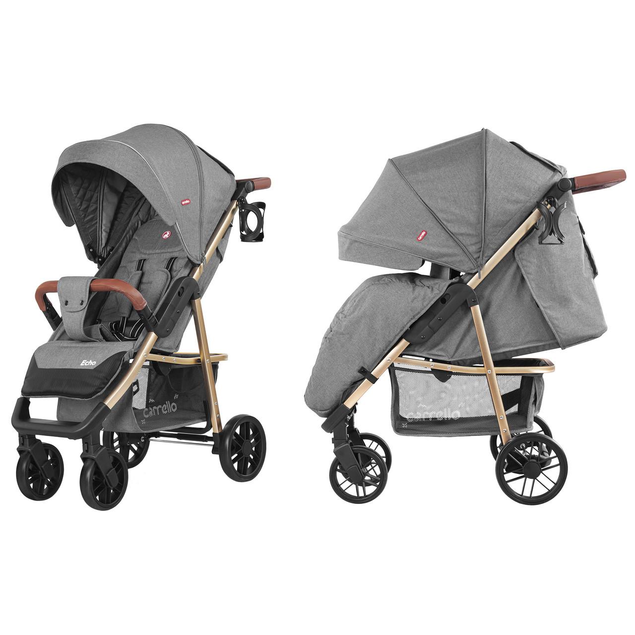 Прогулочная коляска CARRELLO Echo / Rhino Gray