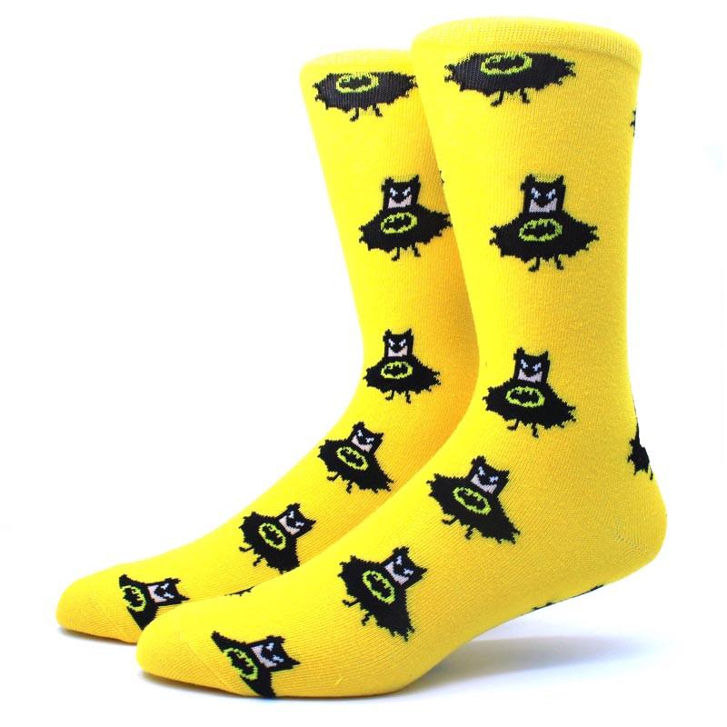Высокие мужские носки Бэтмен