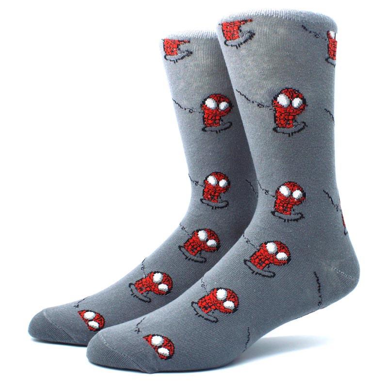 Высокие мужские носки Человек Паук