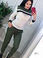 Костюм женский, стильный, теплый  505-069
