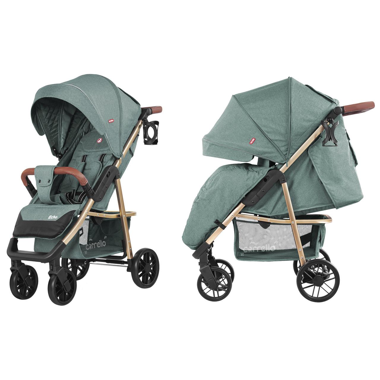 Прогулочная коляска CARRELLO Echo / Emerald Green