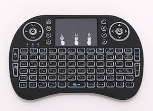 Миниклавиатура беспроводная Rii Mini I8 backlit (с подсветкой)