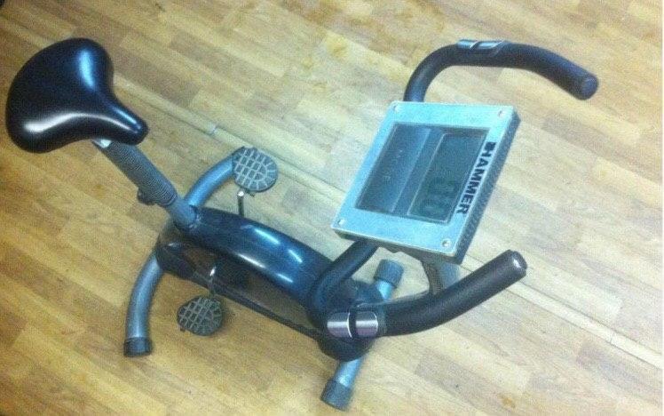 Велотренажер Hammer Cardio б/у