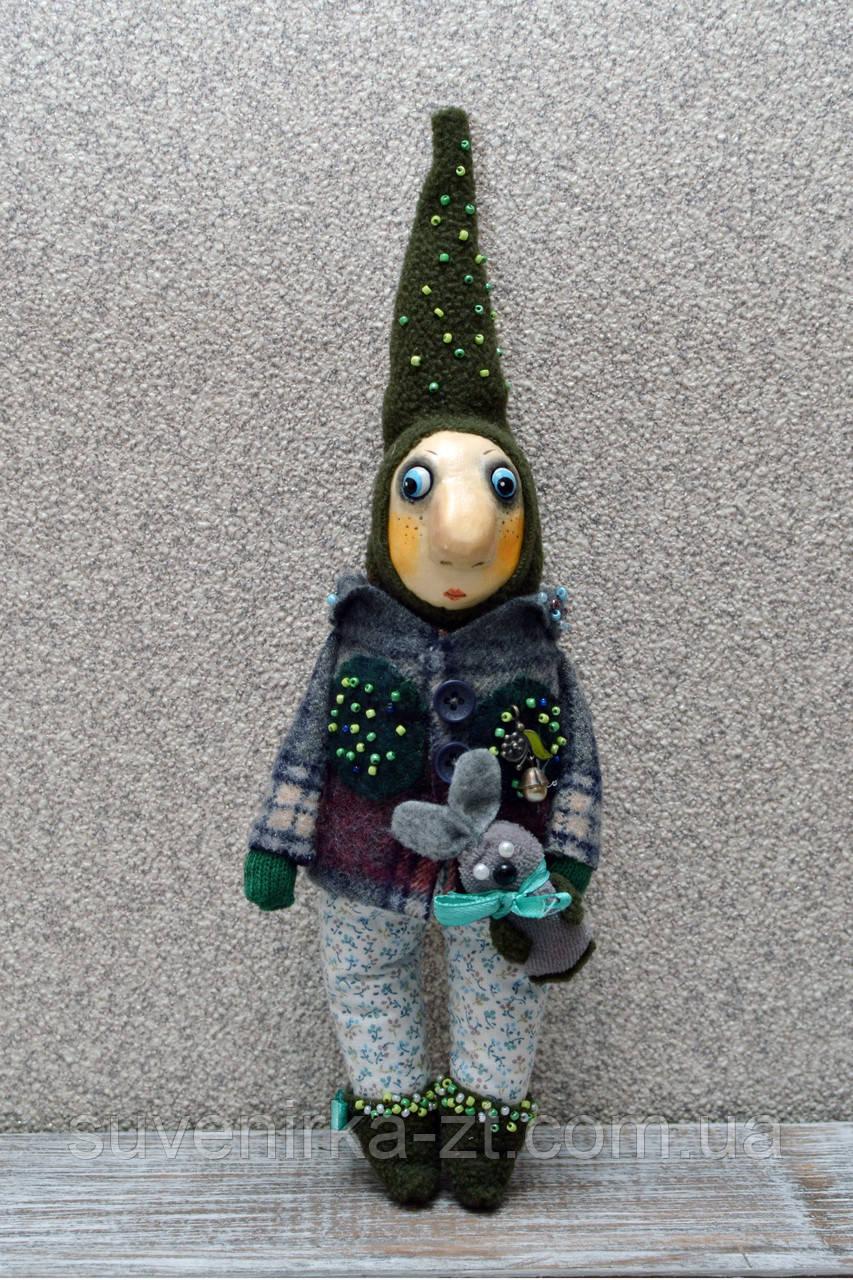 """Авторская, характерная кукла. """"Гном"""" (А01108)"""