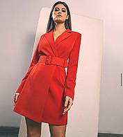Платье пиджак женское нарядное 42-44 46-48