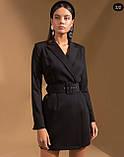 Платье пиджак женское нарядное 42-44 46-48, фото 2