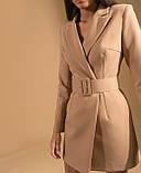 Платье пиджак женское нарядное 42-44 46-48, фото 5