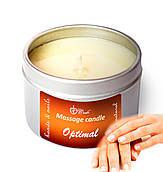 """Масажна свічка для рук і нігтів Live Candle """"Optimal"""" 50 мл"""