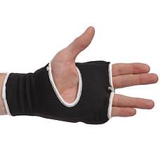 Накладки (перчатки) для каратэ ZEL ZB-6125-L черный, фото 3