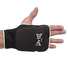 Накладки (перчатки) для каратэ ZEL ZB-6125-L черный, фото 2