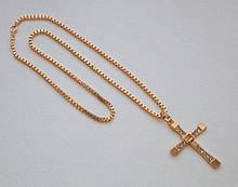 Крест Доминика Торетто с Форсажа (6,5*3,9 см) с цепочкой