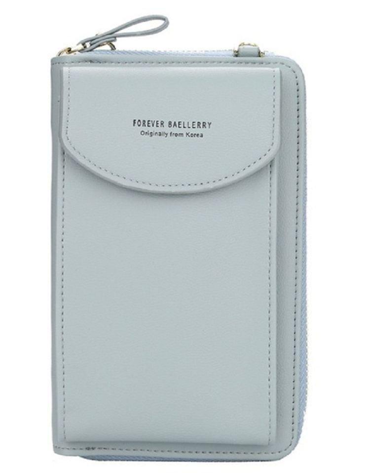 Женский кошелек Baellerry N8591, grey blue