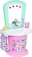 Интерактивный умывальник Туалетный столик для куклы Беби Борн Baby Born Zapf Creation (824078)