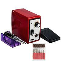 Фрезер для маникюра Drill pro ZS 701 65 Вт 35 000 об, Красный