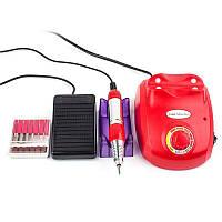 Фрезер для маникюра Drill pro ZS 603 65 Вт 35 000 об, Белый Красный