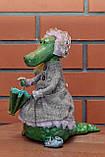 "Авторская, характерная кукла. ""Арина"" (крокодилица) (А01112), фото 2"