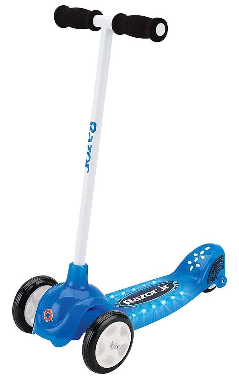 Самокат трехколесный Razor Jr Lil Tek Blue