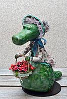 "Авторская, характерная кукла. ""Арина"" (крокодилица) (А01114), фото 1"