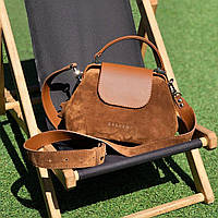 Женская кожаная сумка саквояж VOYAGE SMALL