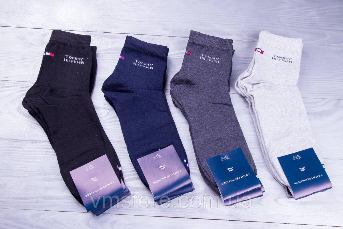 Шкарпетки чоловічі Tommy Hilfiger, демісезонні, упаковка 12 пар