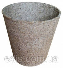 Торфяной горшок круглый 8*8 см