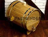 Дубовый жбан для напитков Fassbinder™, 30 литров, фото 3