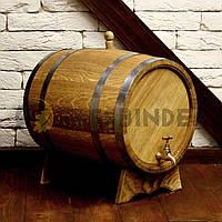 Дубовая бочка для напитков Fassbinder™, 20 литров, фото 1