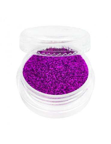 Глиттер в баночке ярко-фиолетовый