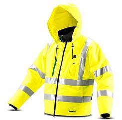 Аккумуляторная куртка с подогревом Makita CJ106DZ (CJ106DZXL)