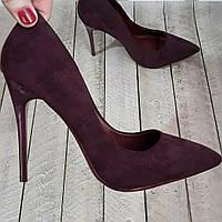 Туфли лодочки женские каблук 36 37 38