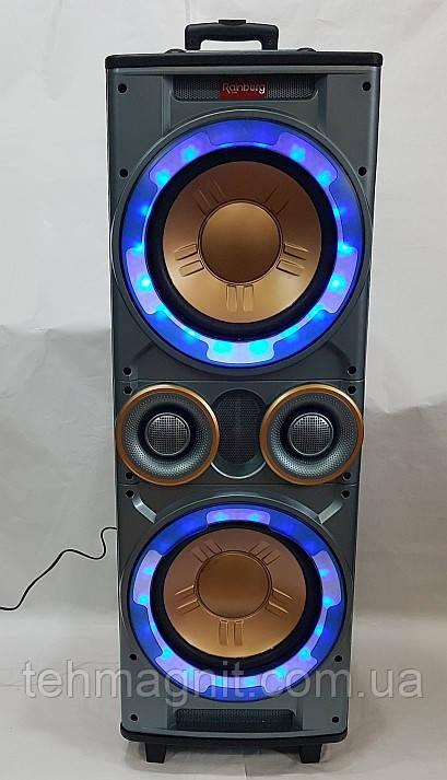 Колонка активная  Rainberg RB-555 X-BASS (300/600W/USB/FM/Bluetooth)