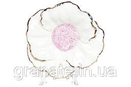 Декоративная подставка для украшений Цветок 13см, 2штуки