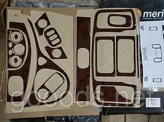 Накладки на панель Opel Vivaro (11-14)