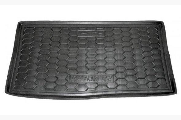 Коврик багажника (Autogumm, пластик) Spark 2012↗ RAVON R2