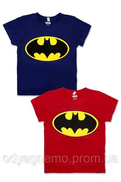 Футболка для мальчиков Batman оптом, 5-12 лет. Артикул: 962-508