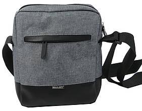 Тканевая мужская городская сумка Wallaby 2423 серая