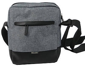 Тканинна міська чоловіча сумка Wallaby 2423 сіра