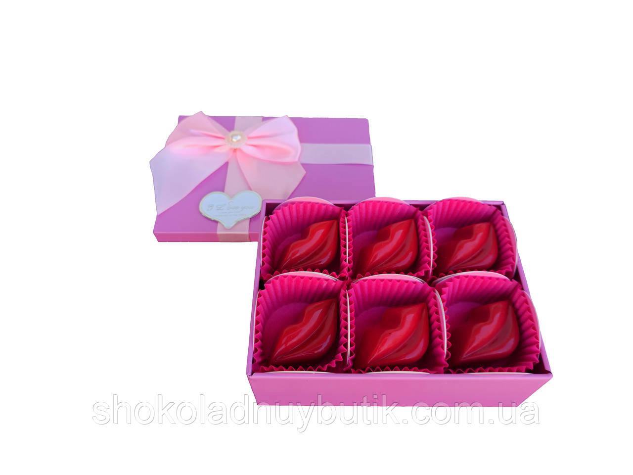 Шоколадные конфеты ручной роботы *Sweet kisses*