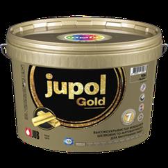 Шелковисто-матовая моющаяся краска Jupol Gold 0,75л (для стен и потолка)