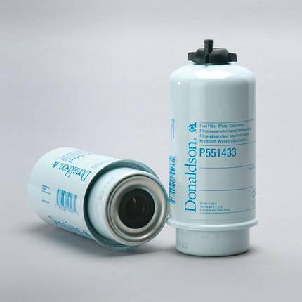 P551433, Фильтр грубой очистки топлива (84477355/87802926/ 87802728/87802927/RE541922), фото 2