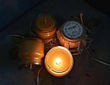 Воскові свічки з натурального воску в склянній баночці, фото 6