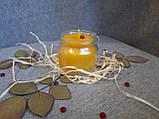 Воскові свічки з натурального воску в склянній баночці, фото 3