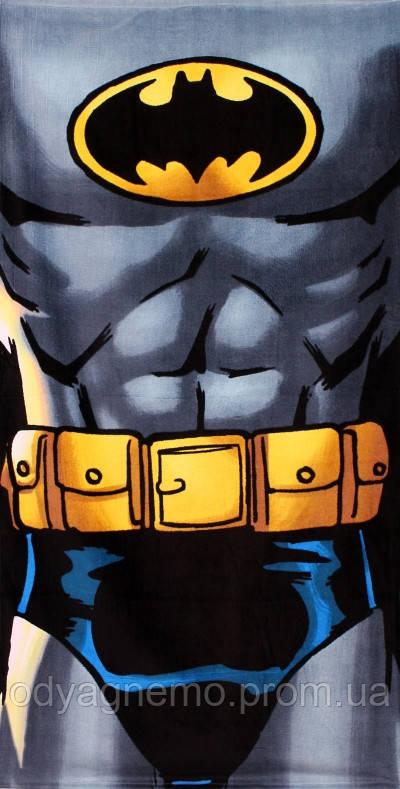 Полотенце детское Batman, 70*140 см. Артикул: 821-345