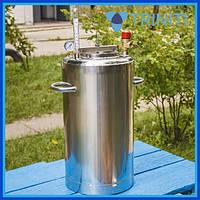 Автоклав для домашнего консервирования ЛЮКС 14 пол.литр., из нержавеющей стали для домашнего консервирования