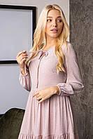 Платье люрексовое со складочками ярусами, фото 1