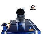 Стальной котел на твердом топливе Idmar GK-1 38квт, фото 7